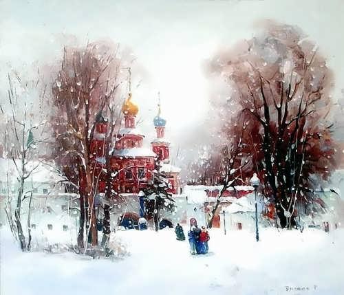 Bilyaev Roman. It's a Sunday afternoon. Moscow. Novodevichy Convent