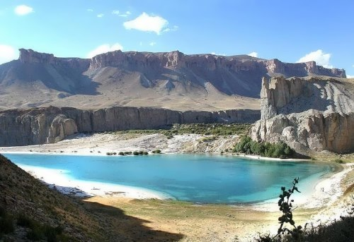Blue Lakes of Band-e Amir