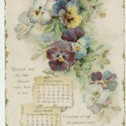 Calendar 1898