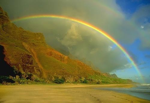 Charming rainbow