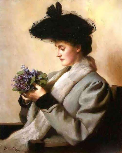 Churchill. Violets, 1905
