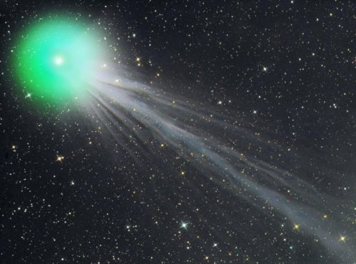 Colorful comet