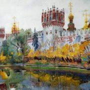 Dobrovolskaya Gayane. Novodevichy Convent in October