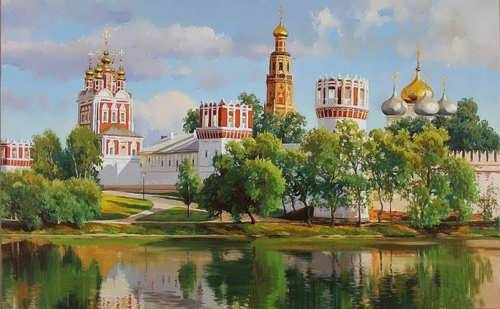Gaifullin Airat. Novodevichy Convent