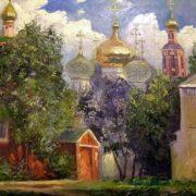 Gerasimov Vladimir. Moscow. Novodevichy Convent