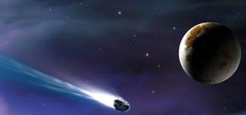 Gorgeous comet