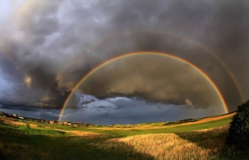 Gorgeous rainbow
