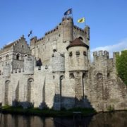 Gravensteen - a castle in Ghent