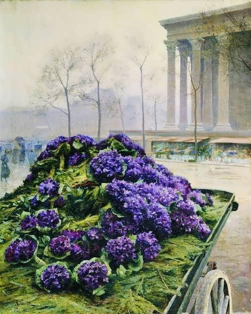 Iosif Evstafievich Krachkovsky, Paris, 1902