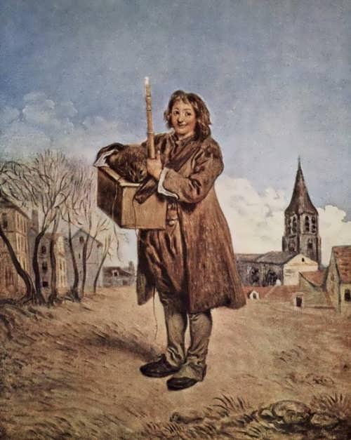 Jean Antoine Watteau - Savoyard with marmot, 1716
