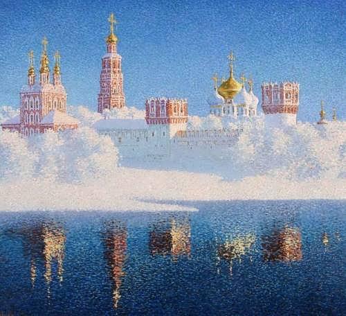 Krylov Vladimir. Novodevichy Convent