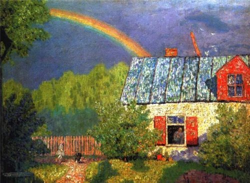 Krymov Nikolai Petrovich. After the spring rain. 1908