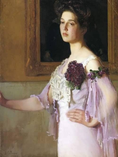 Lilla Cabot Perry, Portrait of Alice