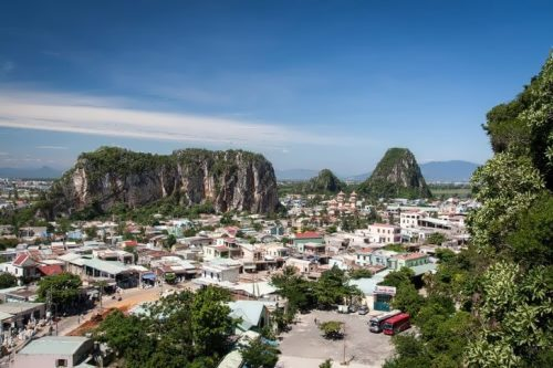 Marble Mountains in Danang