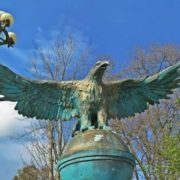Monument to eagle