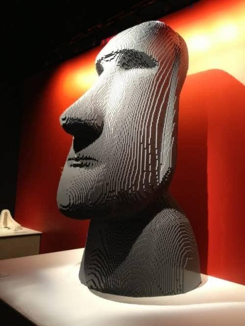 Installation by Nathan Sawaya