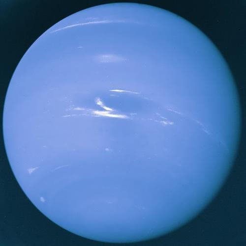 Neptune – huge gas planet