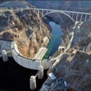 Panorama of Hoover Dam and Mike O'Callaghan Memorial Bridge - Pat Tillman