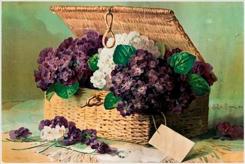 Paul de Longpree. Invoice of Violets, 1895
