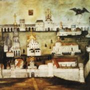 Picture of Novodevichy Convent, 1770