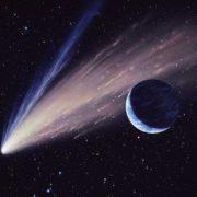 Pretty comet