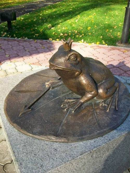 Princess Frog from Abakan