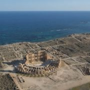 Ruins of the Roman theater in Sabratha