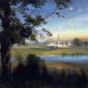 Savrasov Alexey Kondratievich. Novodevichy Convent. 1890