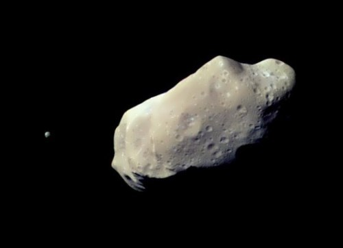 Stunning asteroid