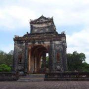 The tomb of Emperor Tu Duc