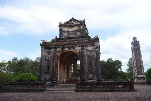 The tomb of Emperor Tu Duc