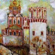 Volkhonskaya Lyudmila. At the walls of the Novodevichy Convent