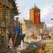 Vsevolod Ivanov. Rainbow over Arkona