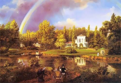 Wincenty Kasprzycki Widok Morysinka. 1834