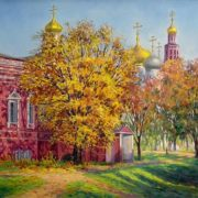 Zrazhevsky Arkady. October in the Novodevichy