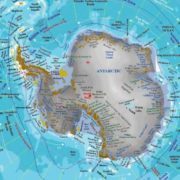Antarctica on the map