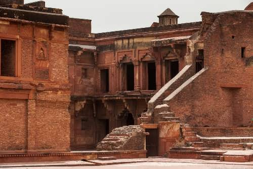 Attractive Red Fort of Agra