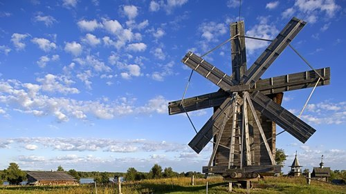 Attractive windmill
