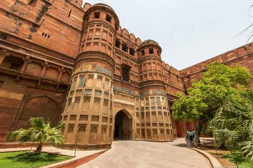 Awesome Red Fort of Agra