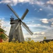 Charming windmill