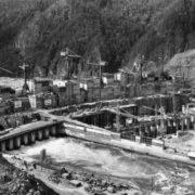 Construction of Sayano-Shushenskaya HPP