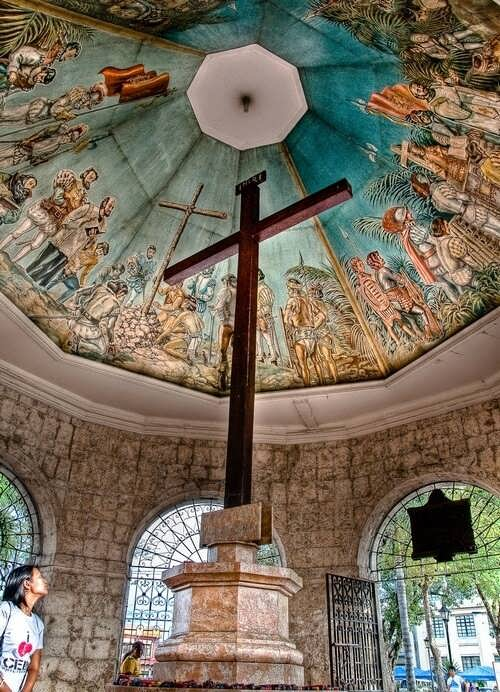Cross of Magellan, Cebu island