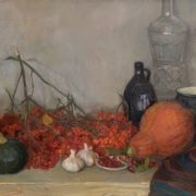 Daria Kiseleva. Pumpkin, ashberry and garlic