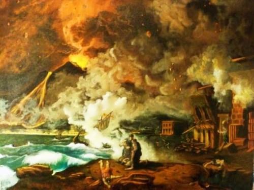 Destruction of Pompeii. Ricardo Santos Alfonso