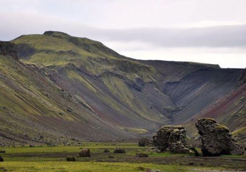 Eldgia in Iceland