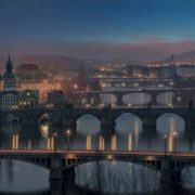 Famous bridges of Prague