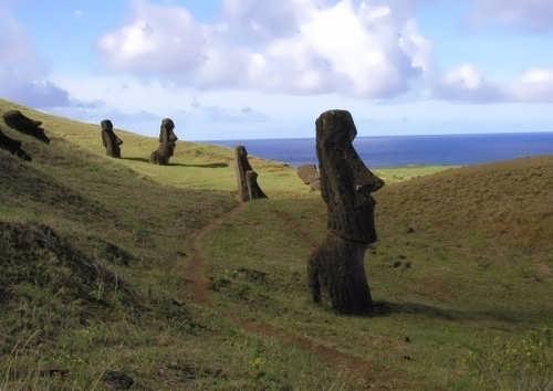 Gorgeous moai