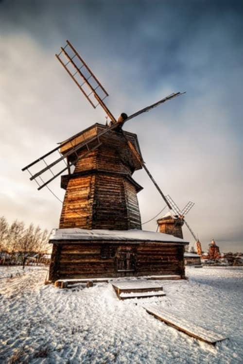Gorgeous windmill