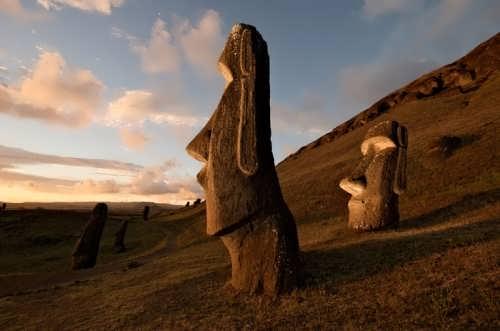 Graceful moai