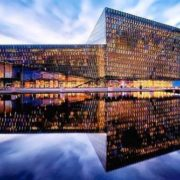 Harpa Blue Hour